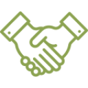 Handshake Icon Education Law Consultation
